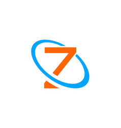 initial letter z logo template design vector image
