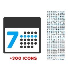Organizer Week Icon vector image