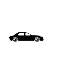 sedan car icon element of popular car icon vector image