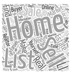 Why It s Never Been Easier To Sell Your Own Home vector image