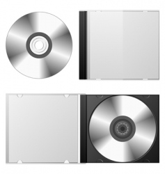 cd dvd set vector image vector image