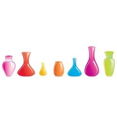 color vase icon vector image
