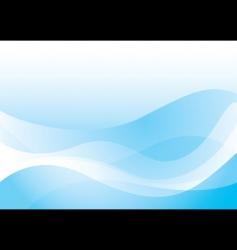 smooth ocean wave vector image vector image
