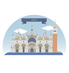 Venice vector image vector image