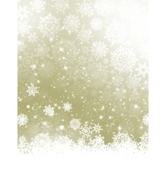 Elegant Christmas with snowflakes EPS 10 vector