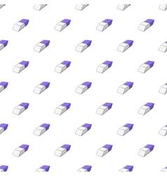 Eraser pattern cartoon style vector image