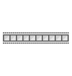 filmstrip template designs vector image
