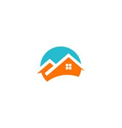 Home icon company logo vector