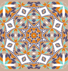 Mandala background ethnicity oriental ornament vector