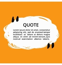 Quote Grunge Round Speech Bubble vector
