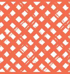 abstract hand drawn paint crossed lines seamless vector image vector image