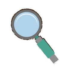 search technology tool optimization green handle vector image vector image
