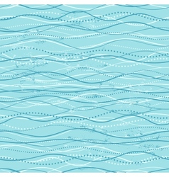 Vintage seamless with ethnic waves vector image vector image