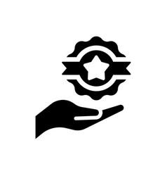 Achievement icon vector