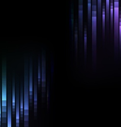 blue abstract pixel speed reverse background vector image
