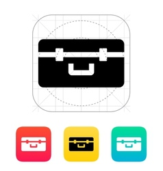 Box for quadcopter icon vector image