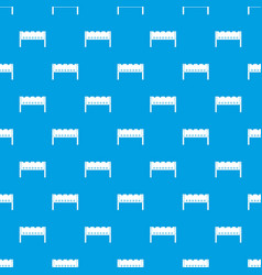Brazier pattern seamless blue vector