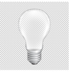 bulb with transparent background vector image