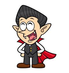 Cartoon funny dracula character orders halloween vector