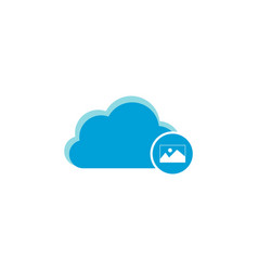 cloud computing icon picture icon vector image