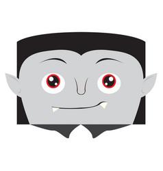 cute halloween cartoon cat avatar vector image