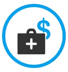 Medical Fund Rounded Icon vector