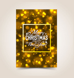 merry christmas design background vector image