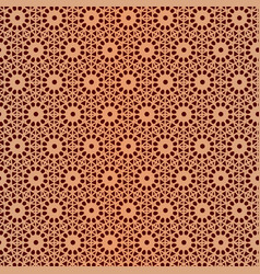 Pattern seamless islamic background design vector