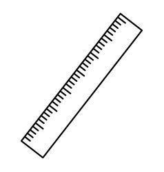 Ruler measure tool vector