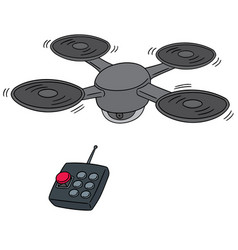 set of drone vector image