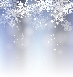 Snowing Background vector image