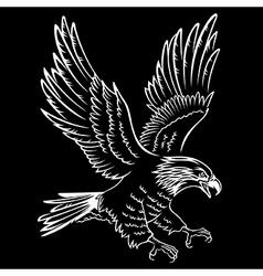 Eagle 007 vector image