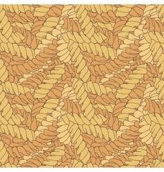 Hand-drawn italian pasta fusilli background vector image vector image