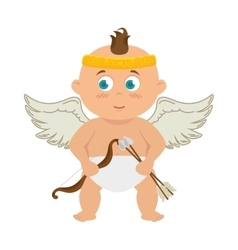 baby angel cupid vector image
