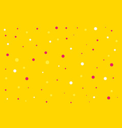 abstract seamless yellow pattern vector image