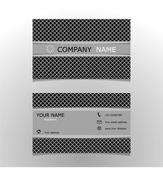design templates name card vector image