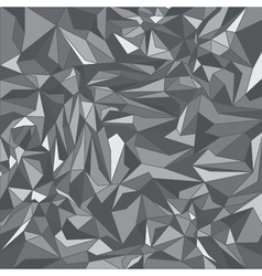 Grey triangle background vector image