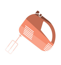 kitchen hand mixer icon vector image