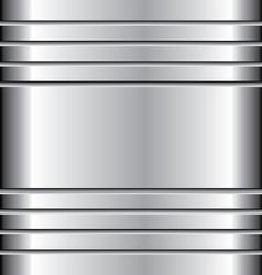Metal abstract background aluminium vector