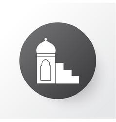 mimbar icon symbol premium quality isolated vector image