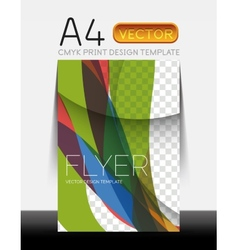 Modern Flyer Design vector