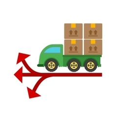 Multiple Delivery Points vector