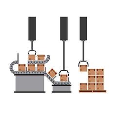 Packing machine vector