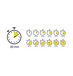 Timer symbol set vector