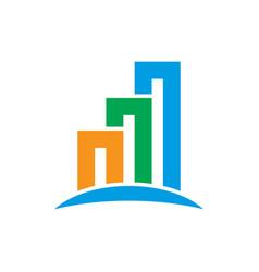 home building contruction logo vector image
