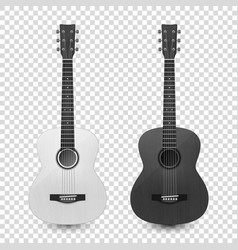 3d realistic white and black classic old vector image