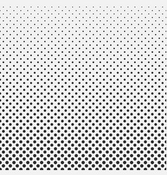 abstract hexagon halftone pattern background vector image