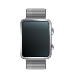 Blanc Display Smart Watch Icon vector