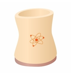 Cylinder for storage of substances icon vector image