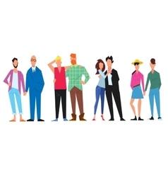 extraordinary couples different minorities vector image